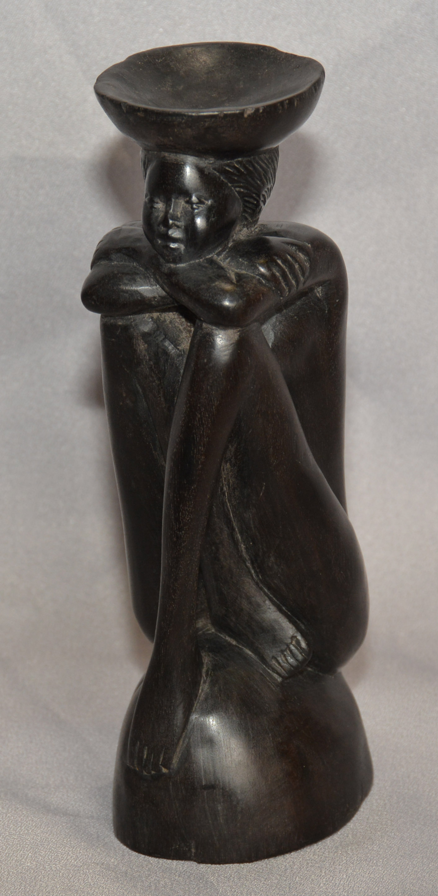 African Blackwood statue by an unknown artisan