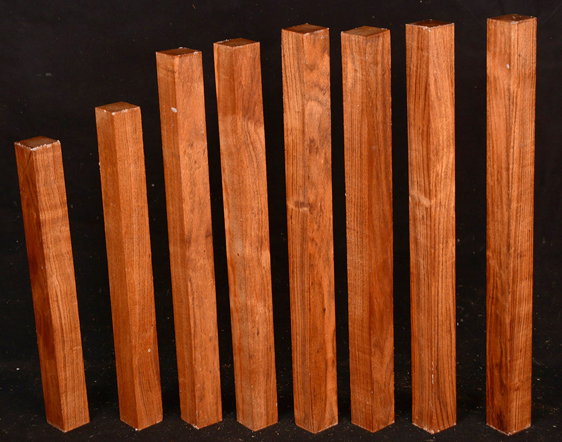 """boards lumber 1//2 or 3//4  surface 4 sides 24/"""" Lacewood"""