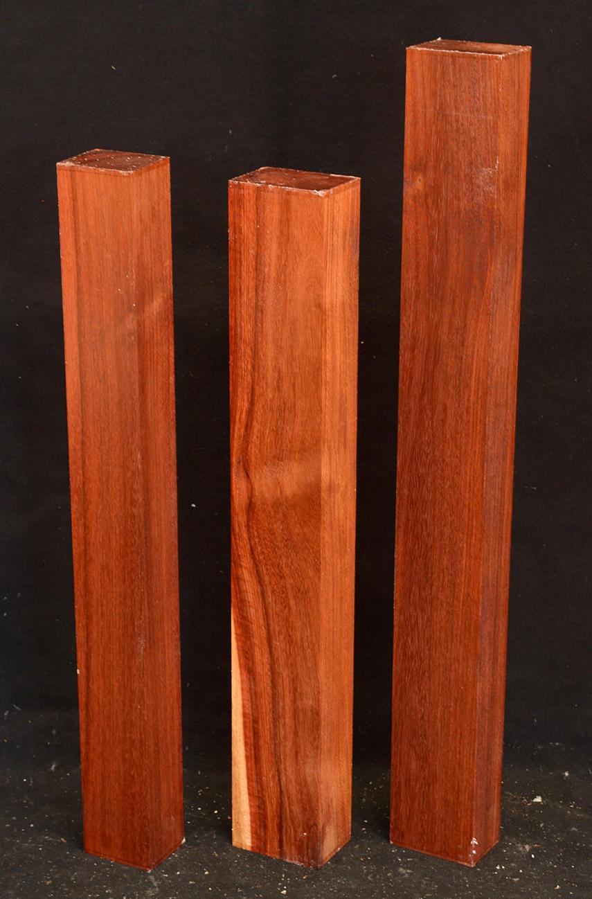 "boards lumber 1//2 or 3//4  surface 4 sides 48/"" Goncalo Alves"